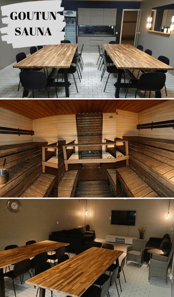 Goutun Sauna Kouvolassa